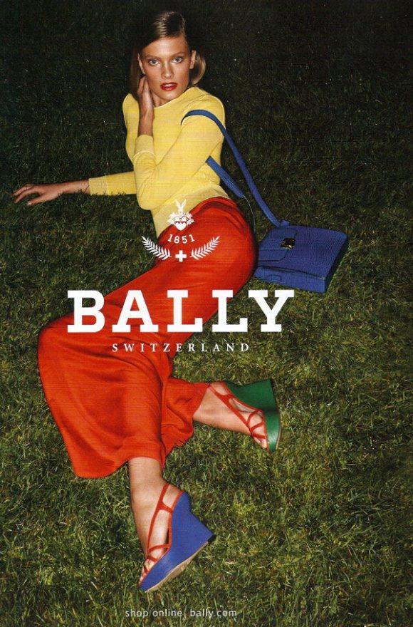 Constance Jablonski Bally Spring 2011 Campaign