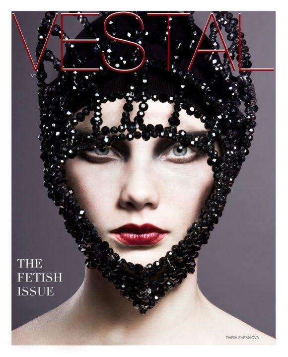 Daria Zhemkova Vestal Magazine January 2011