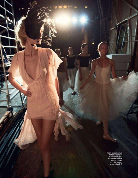 Denisa Dvorakova Vogue Russia February 2011 10