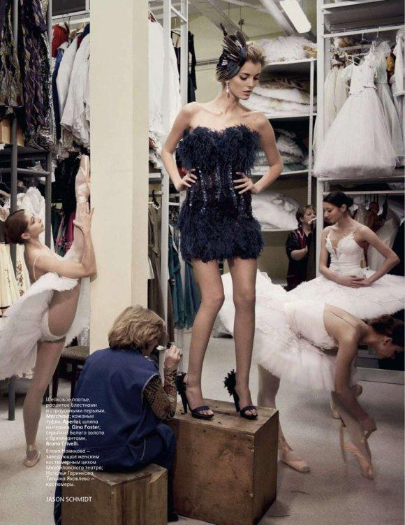 Denisa Dvorakova Vogue Russia February 2011 5