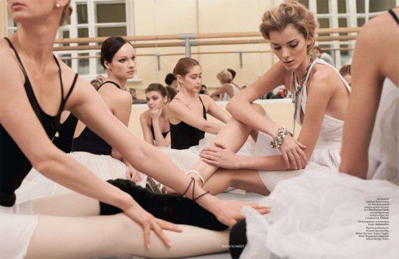 Denisa Dvorakova Vogue Russia February 2011 8