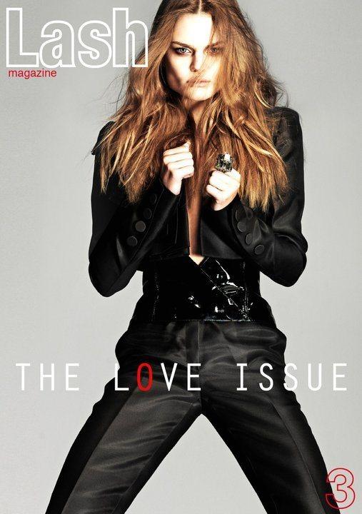 Dimphy Janse Lash Magazine February 2011