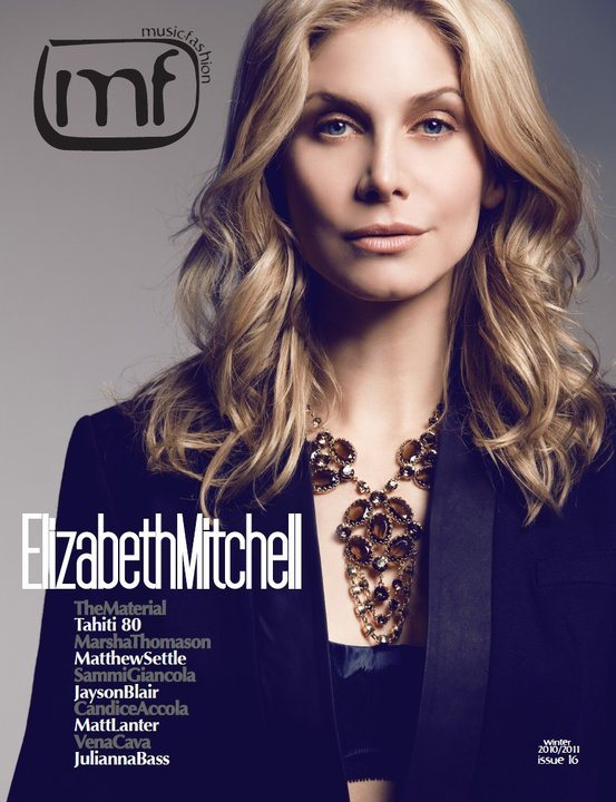 Elizabeth Mitchell mf Magazine Winter 2011