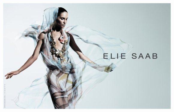 Erin Wasson Elie Saab Spring 2011 Campaign 1