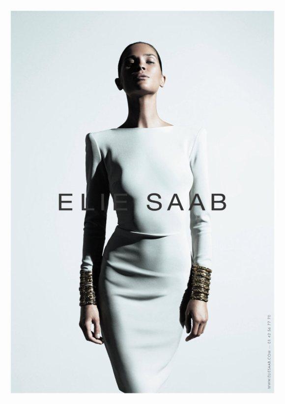 Erin Wasson Elie Saab Spring 2011 Campaign 3