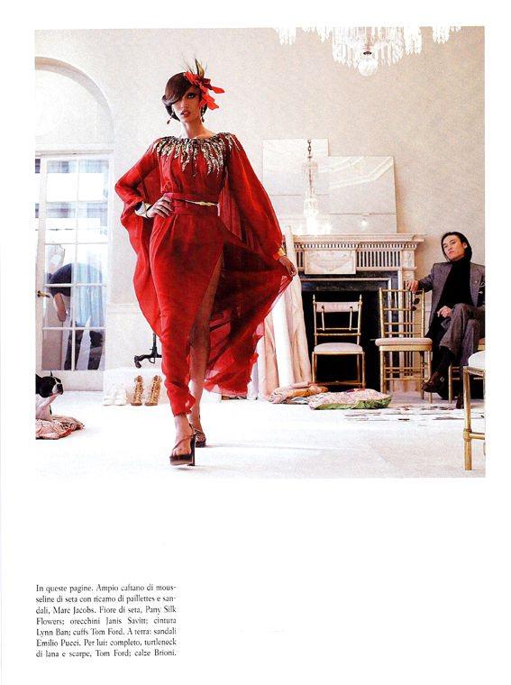 Freja Beha Vogue Italia January 2011 16