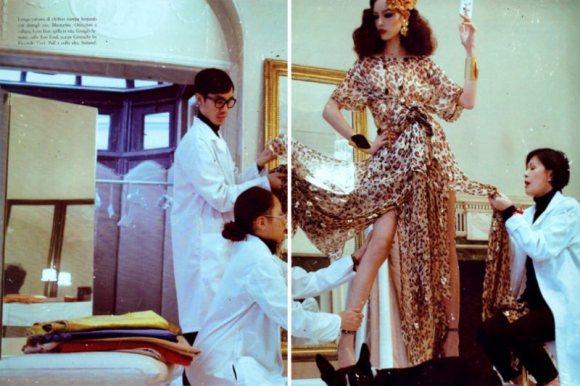 Freja Beha Vogue Italia January 2011 3