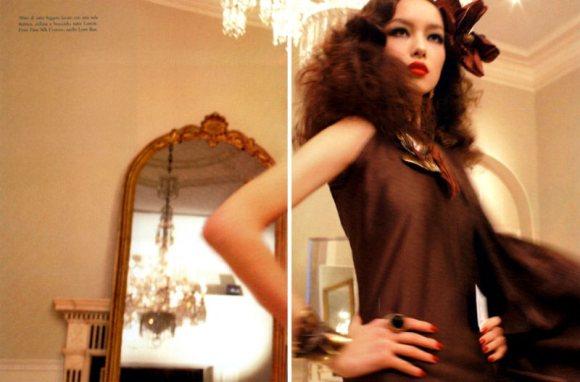 Freja Beha Vogue Italia January 2011 5