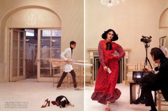 Freja Beha Vogue Italia January 2011 6