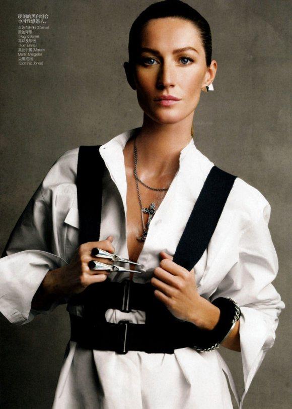 Gisele Bundchen Vogue China February 2011 1