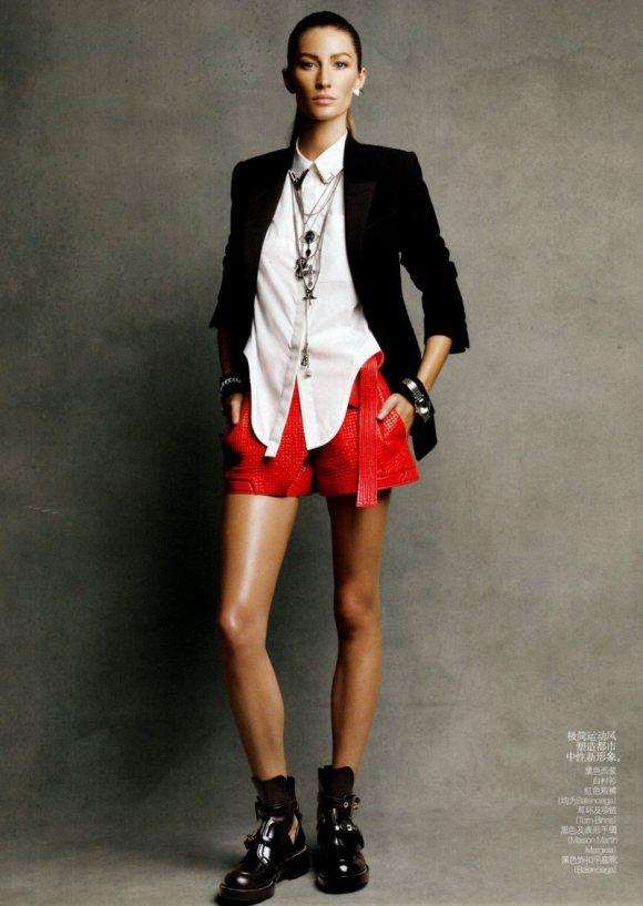 Gisele Bundchen Vogue China February 2011 8