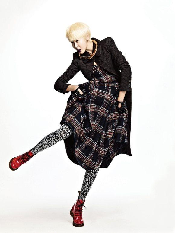 Han Hye Jin Harpers Bazaar Korea January 2011 4