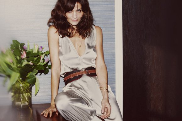 Helena Christensen Caractere Spring 2011 Campaign 6