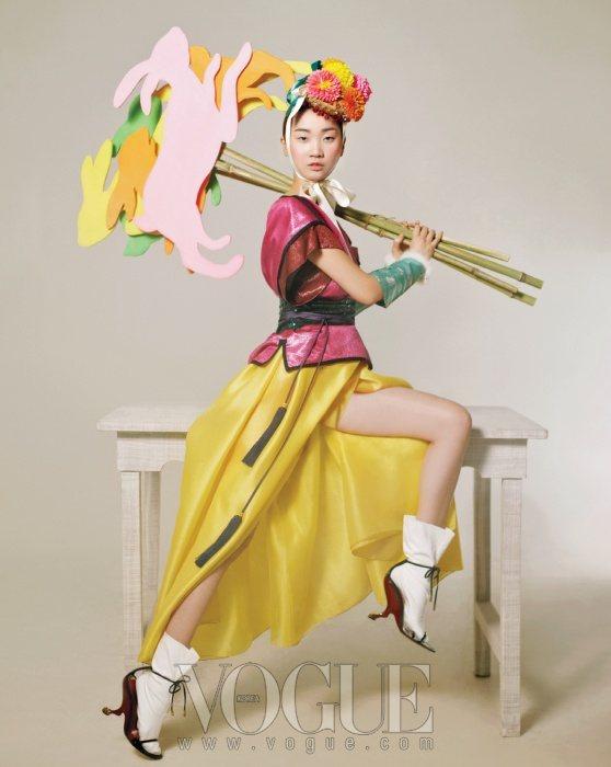 Jang Yoon Ju Vogue Korea February 2011 2