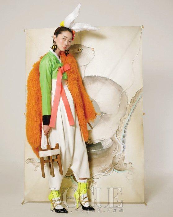 Jang Yoon Ju Vogue Korea February 2011 8