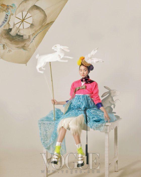 Jang Yoon Ju Vogue Korea February 2011 9