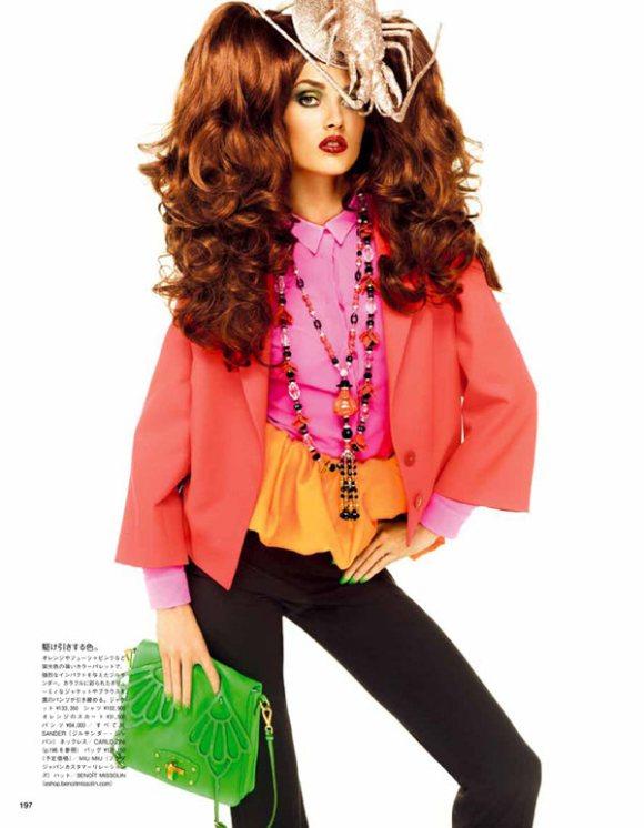 Karmen Pedaru Vogue Nippon March 2011 3