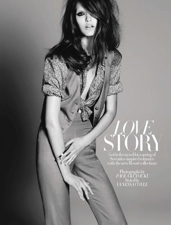 Katie Fogarty Harpers Bazaar UK January 2011 3