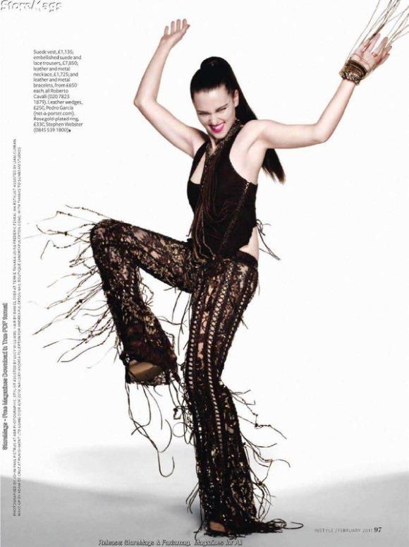 Katie Mcgrath For Instyle Uk Magazine February 2011