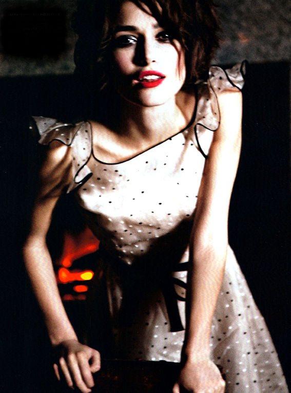 Keira Knightley Vogue Italia January 2011 1