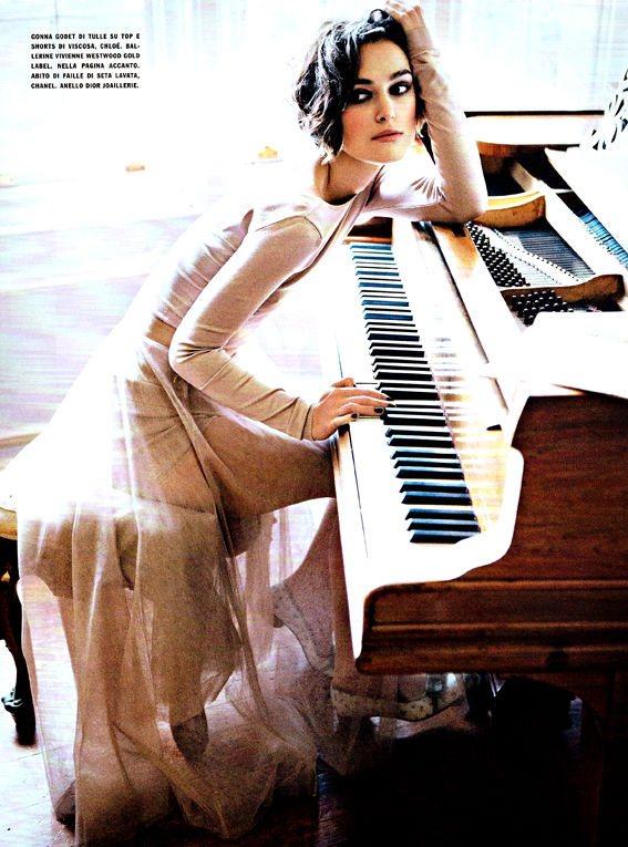 Keira Knightley Vogue Italia January 2011 2