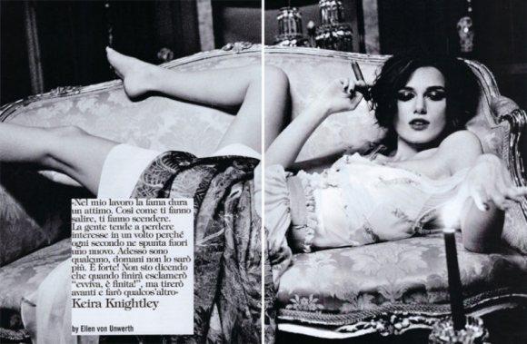Keira Knightley Vogue Italia January 2011 3