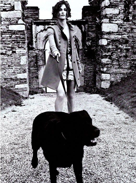 Keira Knightley Vogue Italia January 2011 4