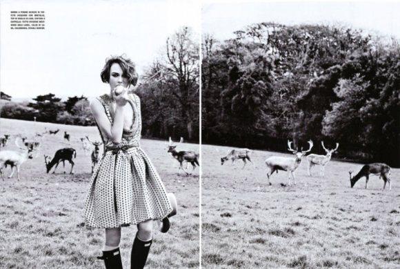Keira Knightley Vogue Italia January 2011 6