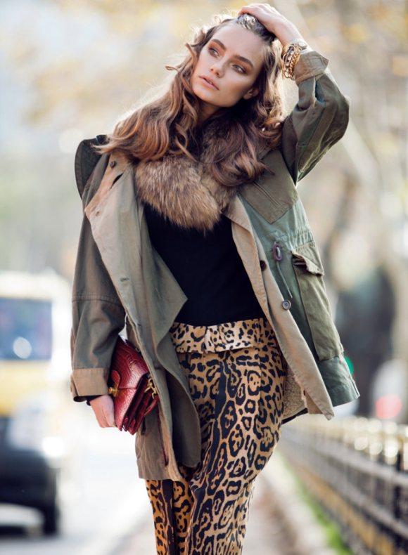 Kira Mazura Elle Turkey February 2011 5