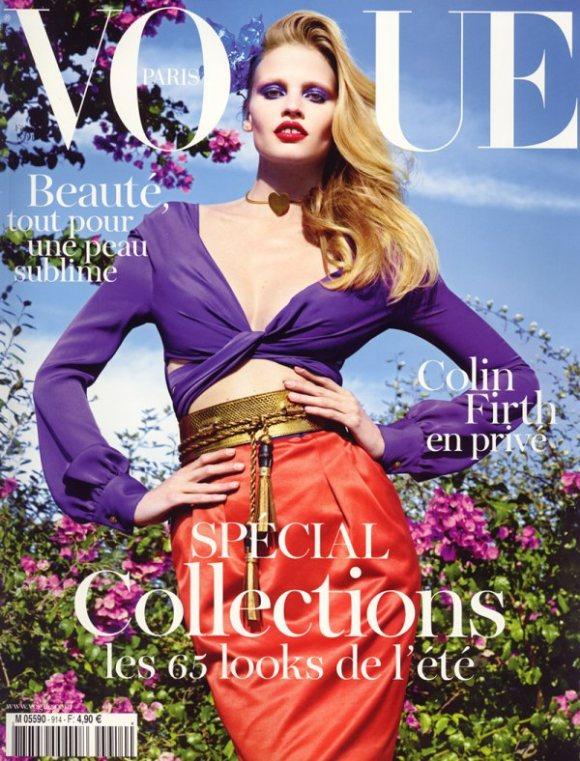Lara Stone for Vogue Paris February 2011