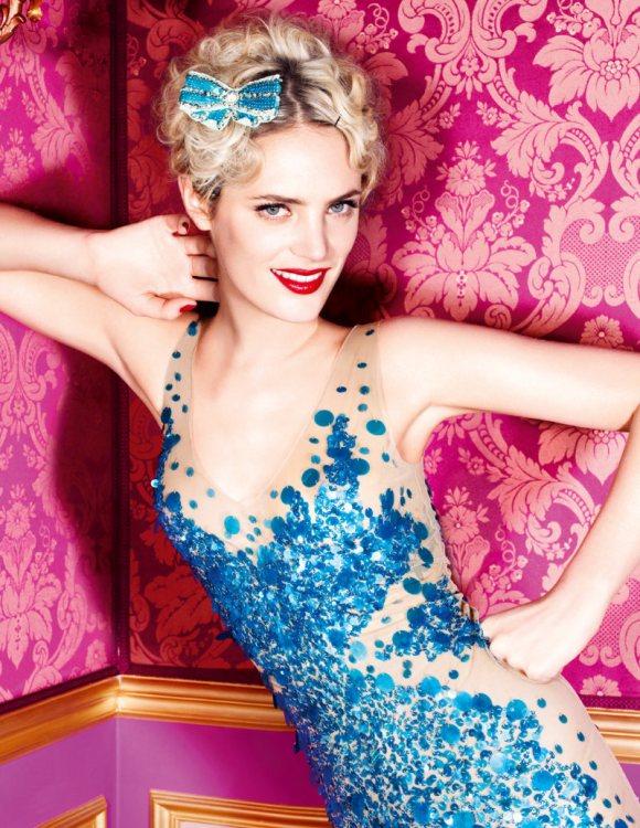 Leah de Wavrin for Blugirl S S 2011 Campaign 1