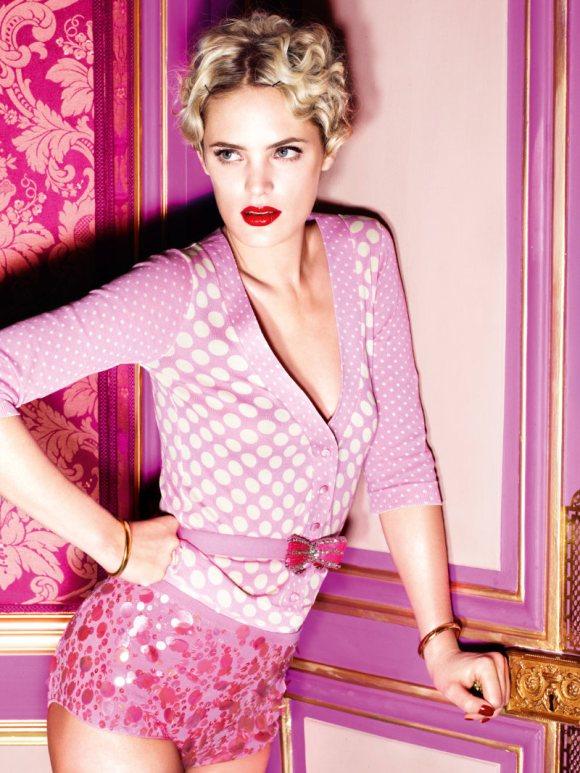 Leah de Wavrin for Blugirl S S 2011 Campaign 3