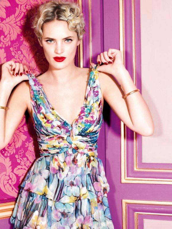 Leah de Wavrin for Blugirl S S 2011 Campaign 5