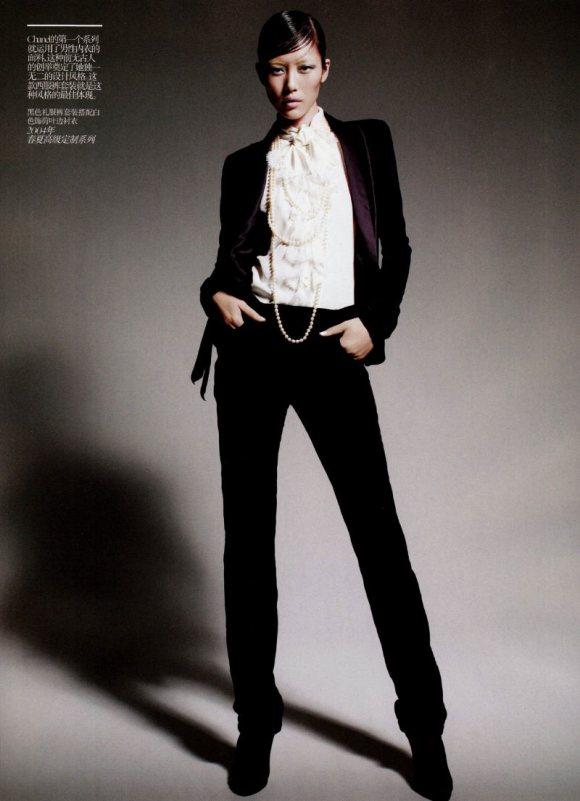 Liu Wen Vogue China February 2011 10