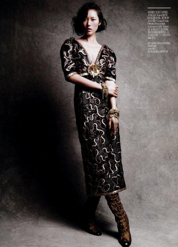 Liu Wen Vogue China February 2011 11