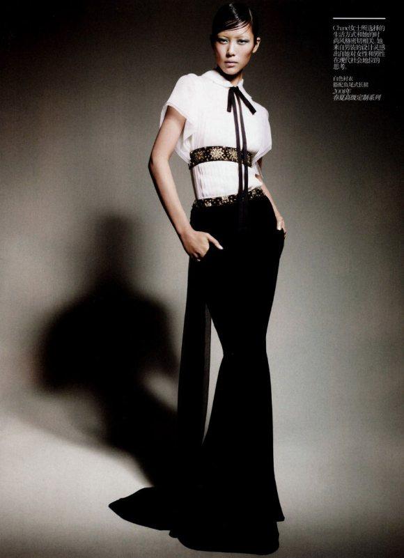Liu Wen Vogue China February 2011 5