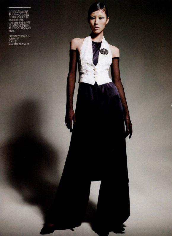 Liu Wen Vogue China February 2011 6
