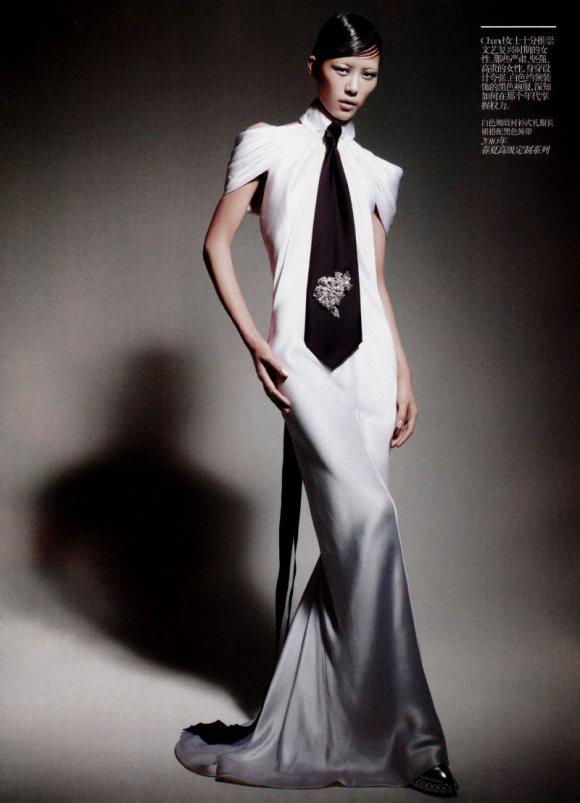 Liu Wen Vogue China February 2011 9