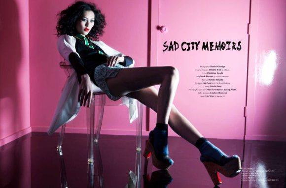 Liu Wen for WestEast Magazine 1