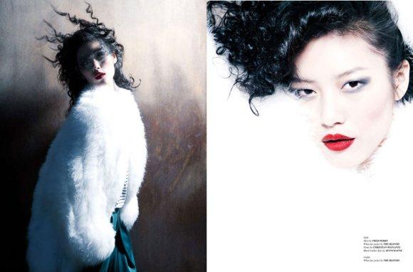 Liu Wen for WestEast Magazine 6