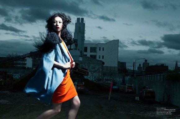 Liu Wen for WestEast Magazine 7