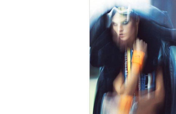 Maryna Linchuk Vogue Germany January 2011 4