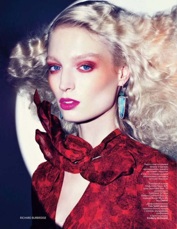 Melissa Tammerijn Vogue Russia February 2011 1