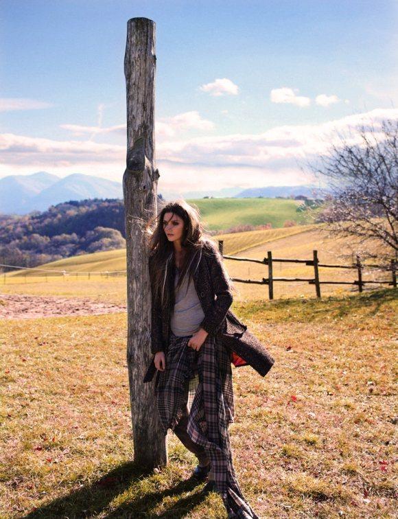 Michelle McCallum Grazia Italy 13