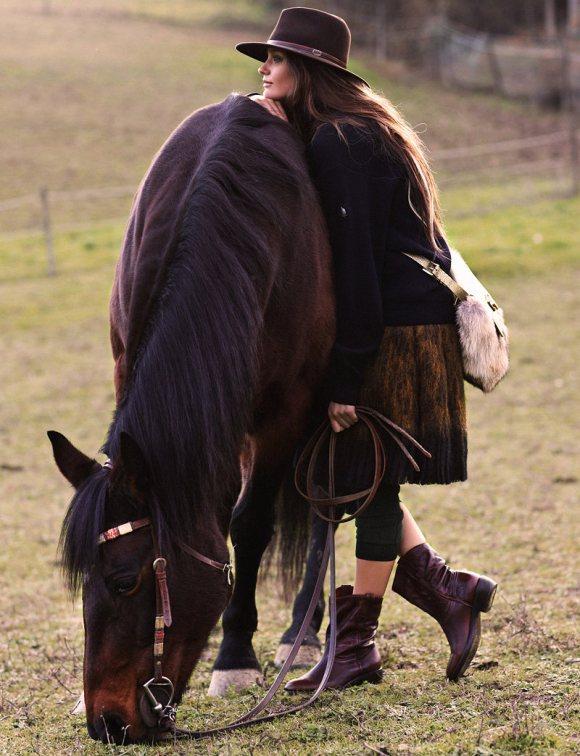 Michelle McCallum Grazia Italy 4