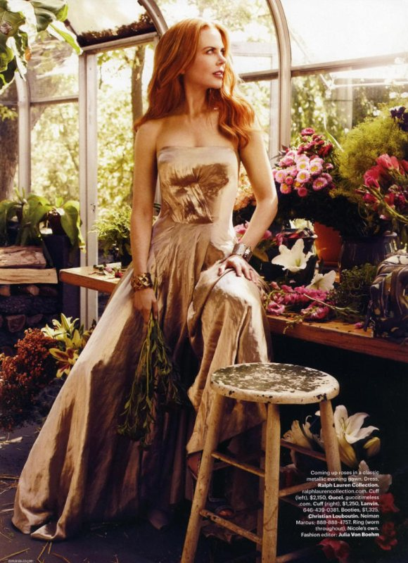 Nicole Kidman for Harpers Bazaar February 2011 5