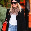 Nicole Richie winter look