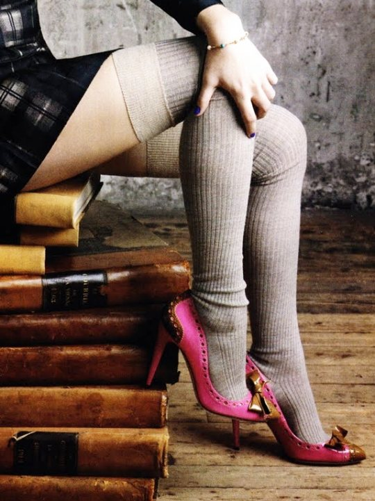 9c1bc41b645 Over the knee socks  What are they and how to wear them