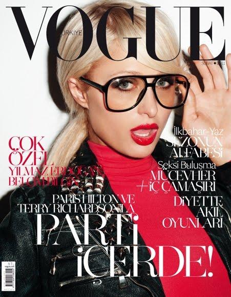 Paris Hilton Vogue Turkey February 2011