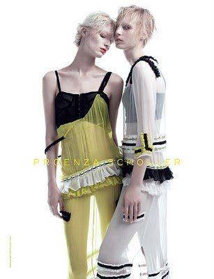Proenza Schouler S S 2011 Full Ad Campaign 2